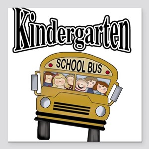 """kgardtenbustee Square Car Magnet 3"""" x 3"""""""