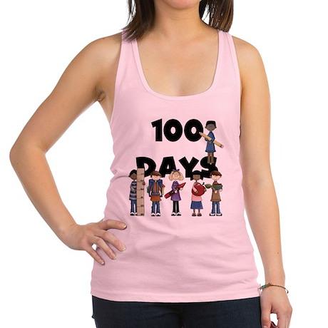 School Children 100 Days Racerback Tank Top