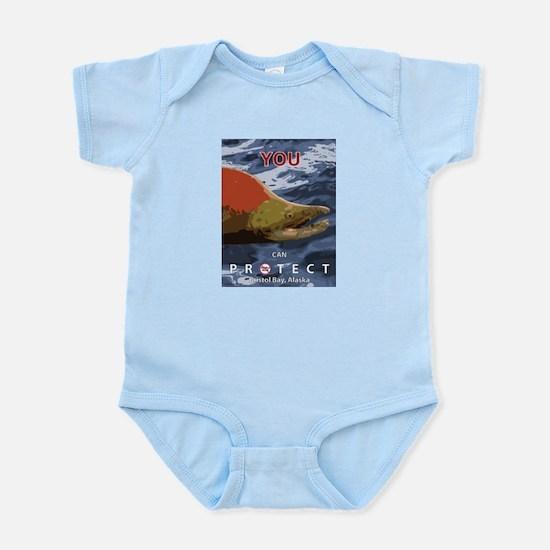 No-Brainer - (Anti-Pebble Mine Campaign) Infant Bo