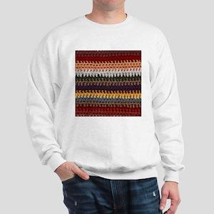 Knitting Stripes Sweatshirt
