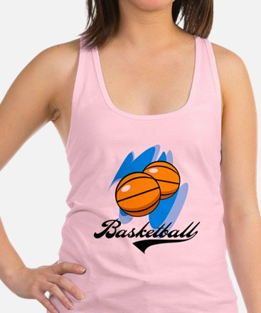 SPORBASKETBALL.png Racerback Tank Top