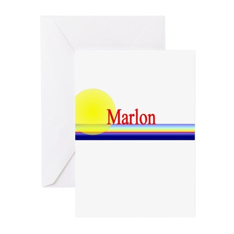 Marlon Greeting Cards (Pk of 10)