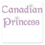 canadianprincess.png Square Car Magnet 3