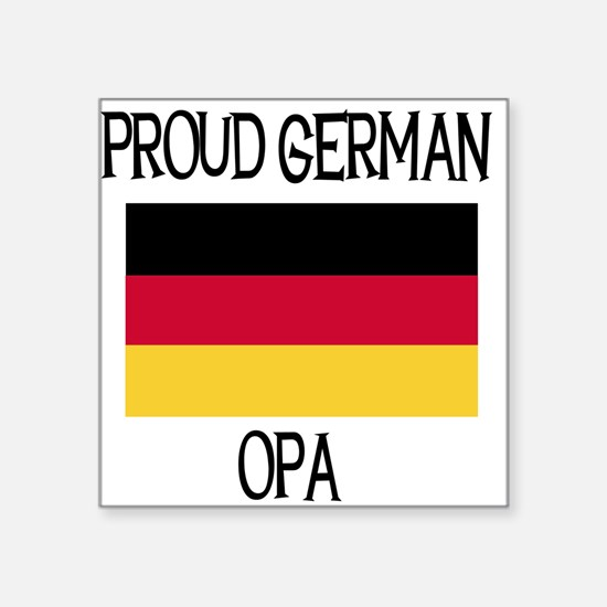 """germanopa.png Square Sticker 3"""" x 3"""""""