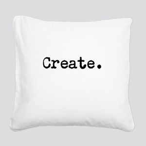 Create Square Canvas Pillow