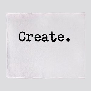Create Throw Blanket