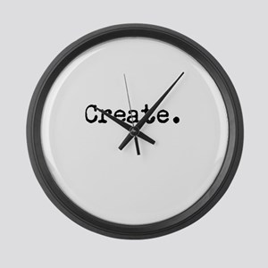 Create Large Wall Clock