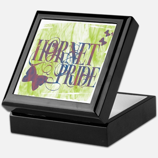 Pretty Hornet Pride Keepsake Box