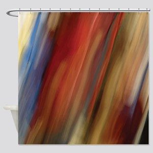 Surreal Stripes Shower Curtain