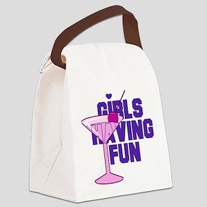 Bachelorette Girls Canvas Lunch Bag
