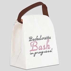 Bachelorette Bash Canvas Lunch Bag