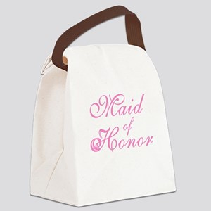 sheerpinkmaidhonor Canvas Lunch Bag