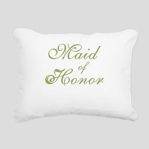sheergreenmaidhonor Rectangular Canvas Pillow