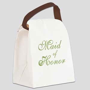 sheergreenmaidhonor Canvas Lunch Bag