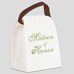 sheergreenmatronhonor Canvas Lunch Bag