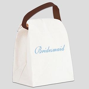 sheerblubridesmaid Canvas Lunch Bag