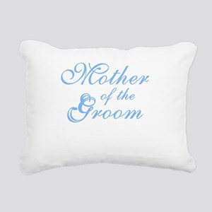 bluemothergroomnew Rectangular Canvas Pillow