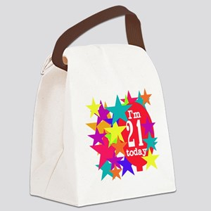 BLACKTEE21 Canvas Lunch Bag