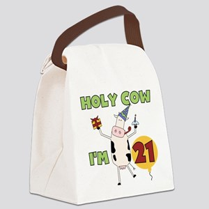 holycow21 Canvas Lunch Bag