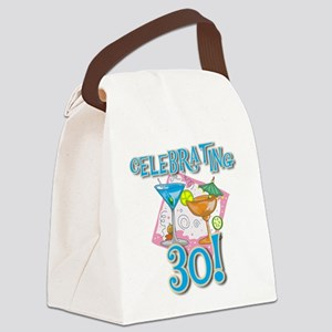 TROPICALCELEBRATING30 Canvas Lunch Bag