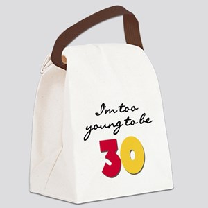youngbe30 Canvas Lunch Bag