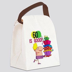 60ISGOOD Canvas Lunch Bag