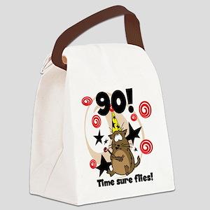 90timeflies Canvas Lunch Bag