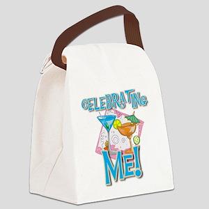 tropicalcelebrateme Canvas Lunch Bag