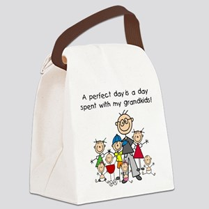 GRANDPASTICKPERFECTDAY Canvas Lunch Bag