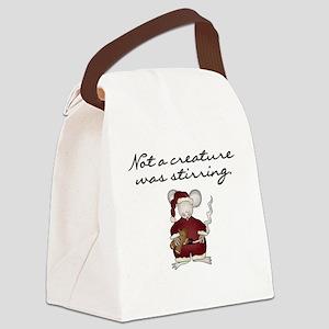 notacreaturemousetee Canvas Lunch Bag