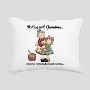 BAKINGWITHGRANDMAtee Rectangular Canvas Pillow