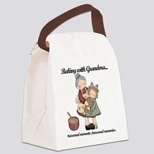 BAKINGWITHGRANDMAtee Canvas Lunch Bag