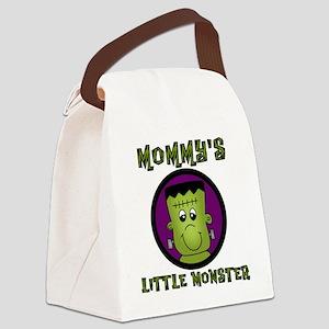 frankmommonster Canvas Lunch Bag