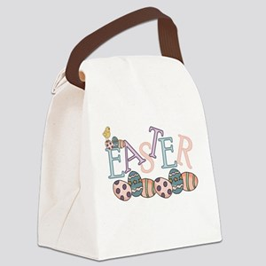 easterchickieEGG Canvas Lunch Bag