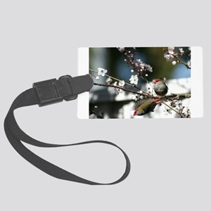 Finch moments Large Luggage Tag