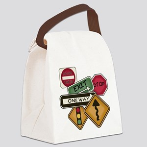 TPSIGNSTEE Canvas Lunch Bag