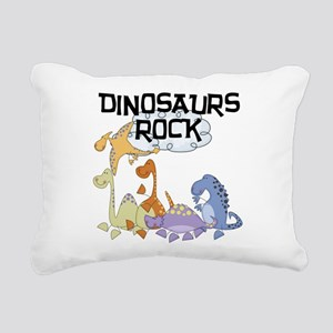 dinosaursrockk Rectangular Canvas Pillow