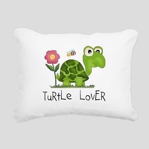 turtleloverr Rectangular Canvas Pillow