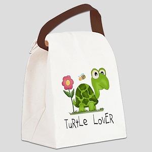 turtleloverr Canvas Lunch Bag