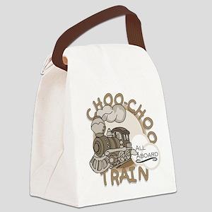 INKCHOOCHOO Canvas Lunch Bag
