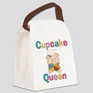 PIGGYCUPCAKEQUEEN Canvas Lunch Bag