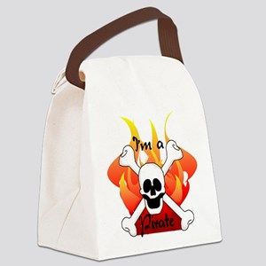 skullpiratetee Canvas Lunch Bag