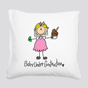 expecttwinsstick4 Square Canvas Pillow