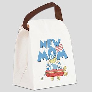 newmomwagon Canvas Lunch Bag