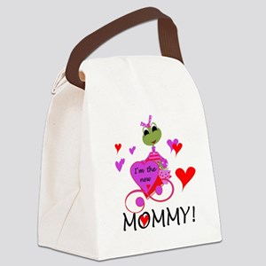 frognewmommy Canvas Lunch Bag