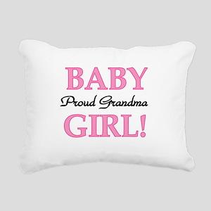 BABYGIRLPRDGMA Rectangular Canvas Pillow
