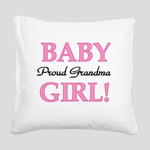 BABYGIRLPRDGMA Square Canvas Pillow