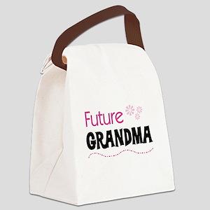 FUTUREGRANDMAPINK Canvas Lunch Bag