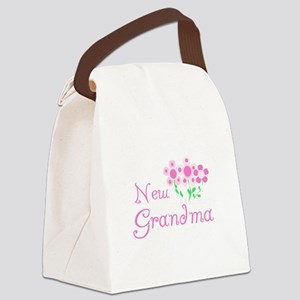 NEWGMAPINKFLOWS Canvas Lunch Bag