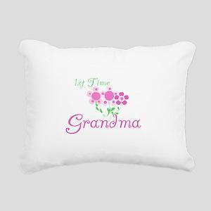 1sttimegrandmaaa Rectangular Canvas Pillow